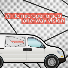 Vinilo Microperforado + de 5 m2