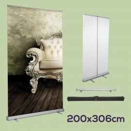 Roll Up 200 x 306 cm