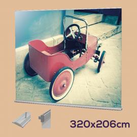 Roll up 320 x 206 cm