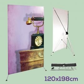 X-Banner 120 x 198 cm