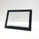 Display A5 horizontal con borde negro