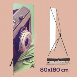 X-Banner 80 x 180 cm