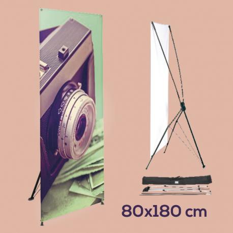 X-Banner80 x 180 cm